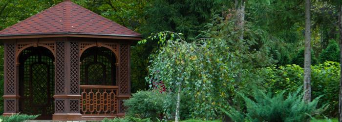 Garten Pavillons